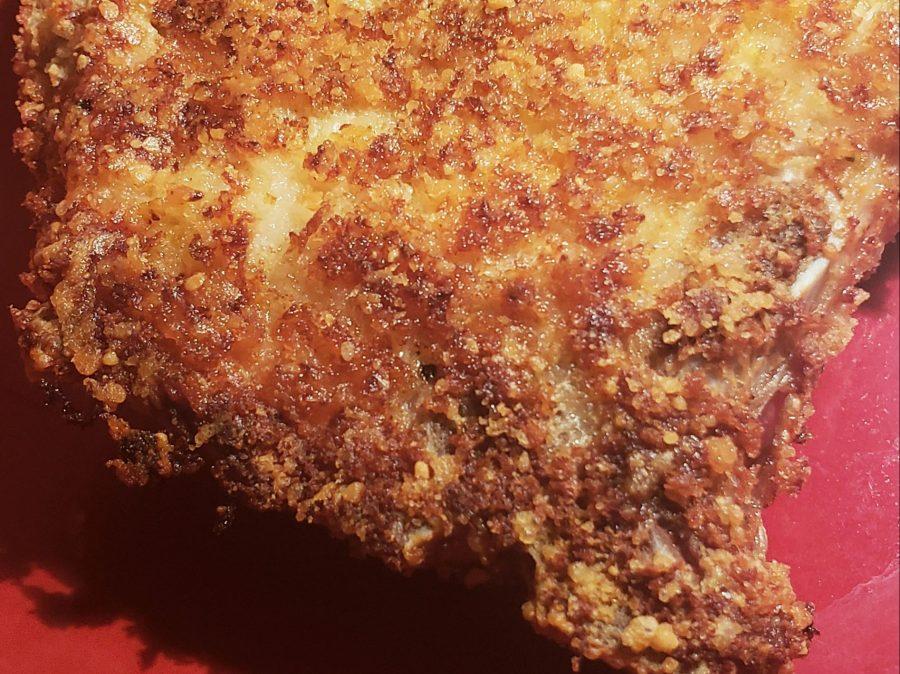 Parmesan Crusted PorkChops
