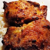 Baked Chipotle Chicken Thighs