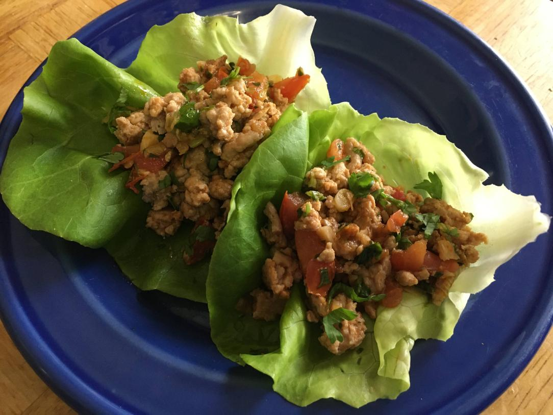 Siracha Lettuce Wrap