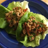 Sriracha Pork Lettuce Wraps